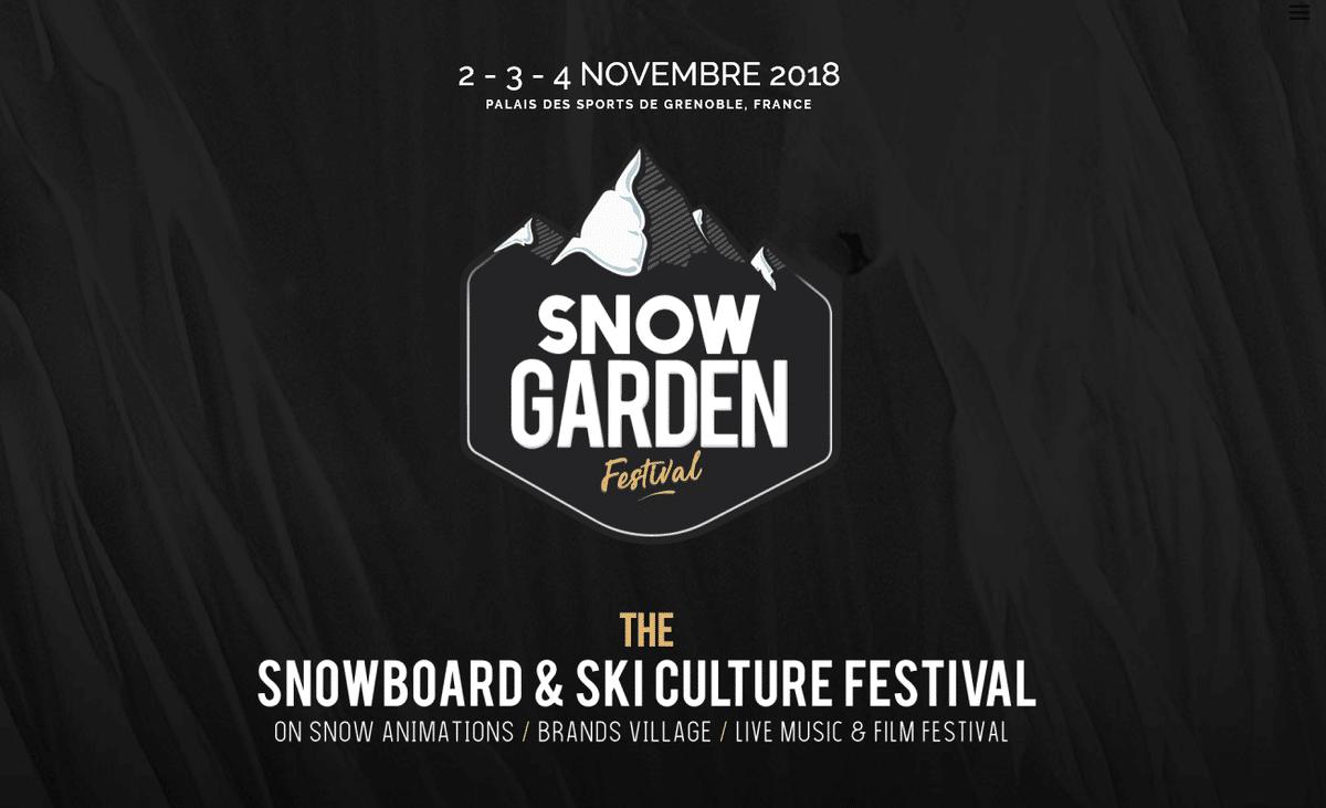 Snow Garden Festival