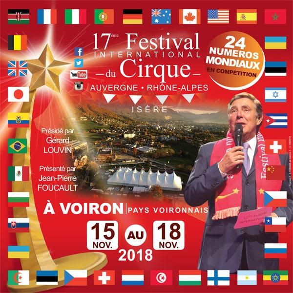 Festival international du cirque Auvergne Rhône-Alpes